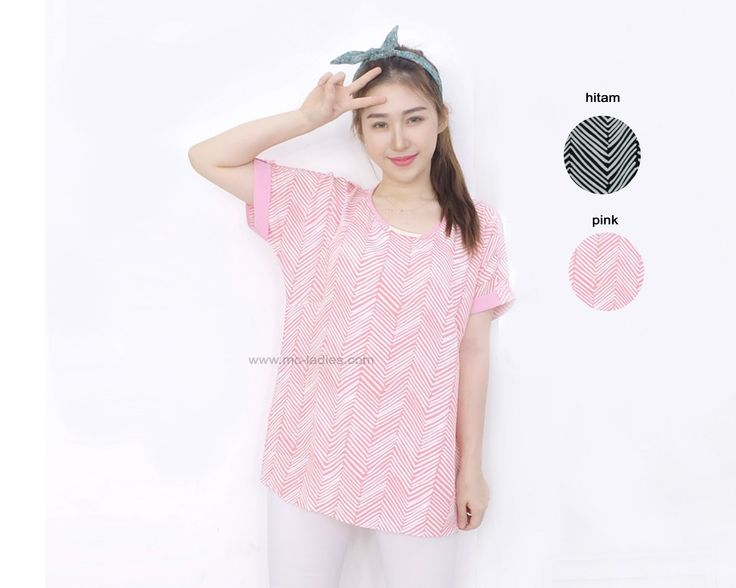 MC 0138 DS  color ; pink, hitam size : all size fit to L