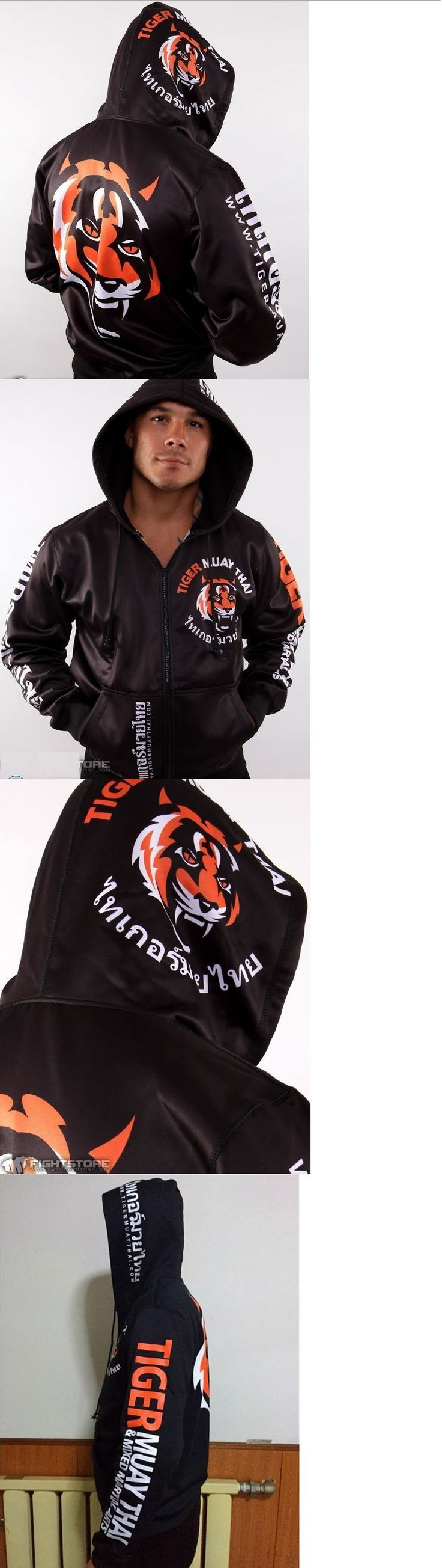 Jackets 179771: Mma Hoodie Tiger Men Muay Thai Fighting Zipper Hoodie Jacket Jumper Suit Hombre -> BUY IT NOW ONLY: $54.97 on eBay!