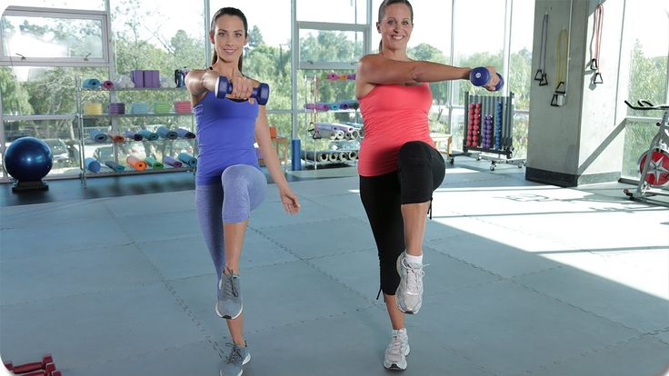 One on One Post Natal Maternity Workout with Autumn Calabrese - YouTube