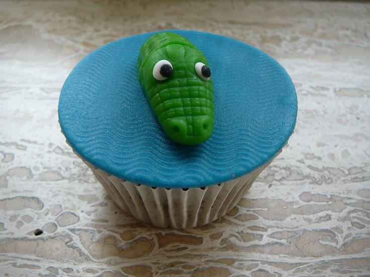 cupcake krokodil - Google zoeken