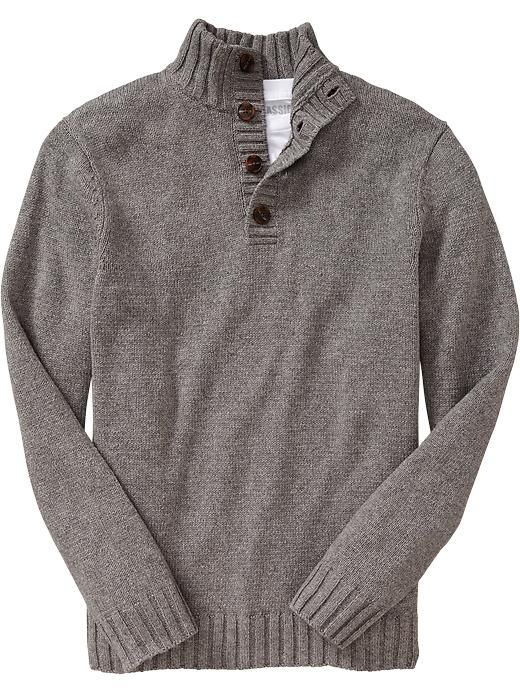 Mens Shawl Collar Sweaters