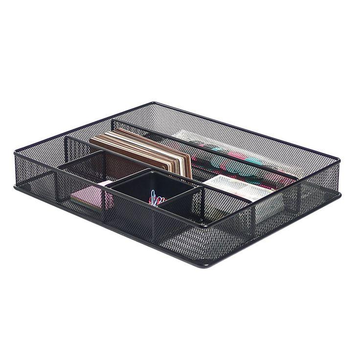 Brenton Studio™ Metro Mesh Large Drawer Organizer, 2 7/16
