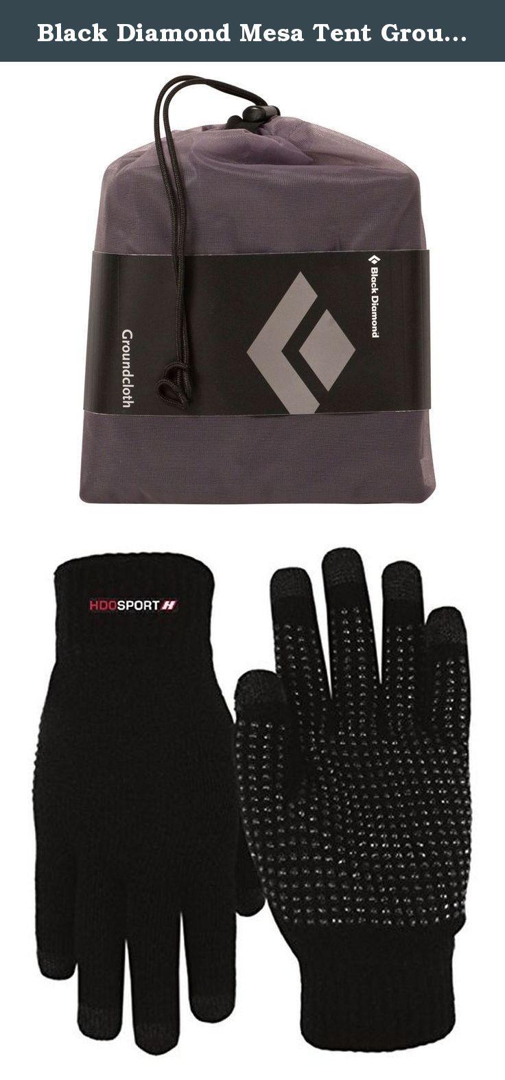 Black diamond virago gloves - Black Diamond Mesa Tent Ground Cloth And Hdo Lite E Tip Gloves With Grippers