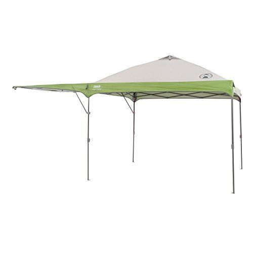 The ColemanTM Swingwall Straight Leg X Instant Canopy Features A Tough Steel Frame And UV Filtering GuardTM Material