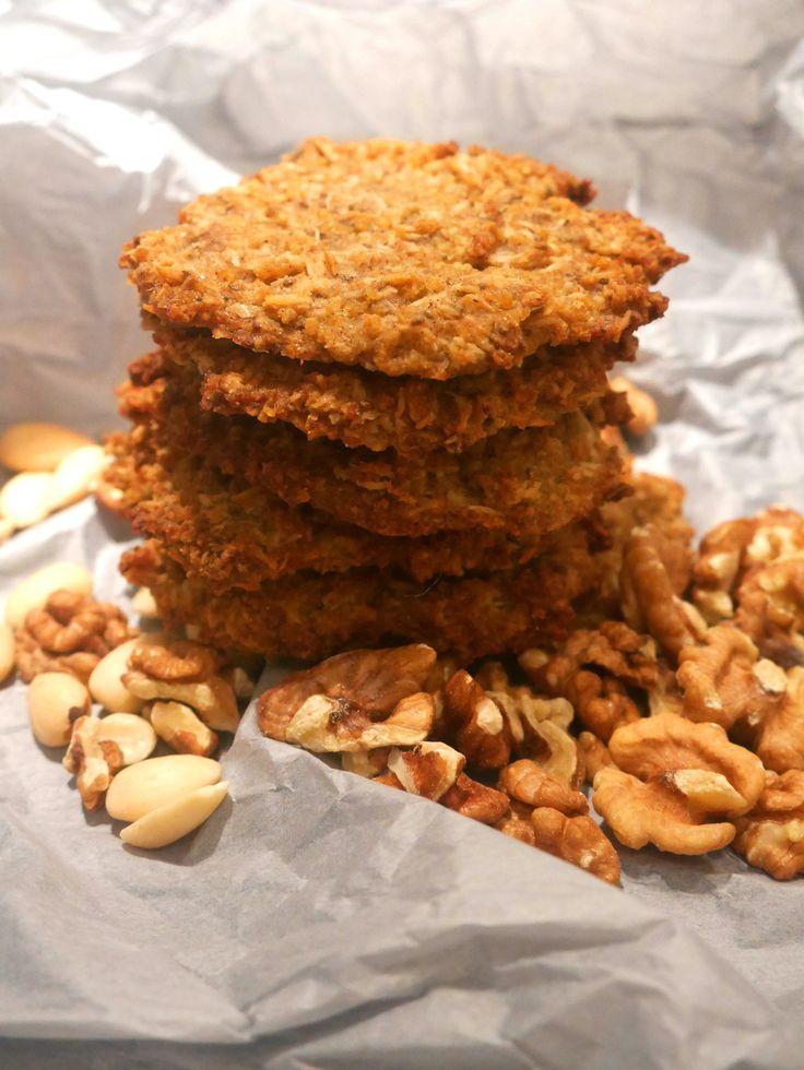 Ciasteczka z kaszy jaglanej z wiórkami kokosowym – bez pszenicy, bez mleka, bez jajek, bezcukru :) » healthy plan by ann
