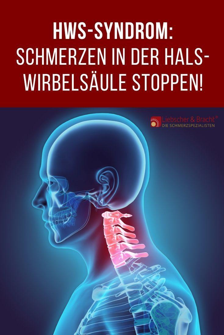 Hws Syndrom Hws Syndrom Halswirbelsaule Schmerzen Und