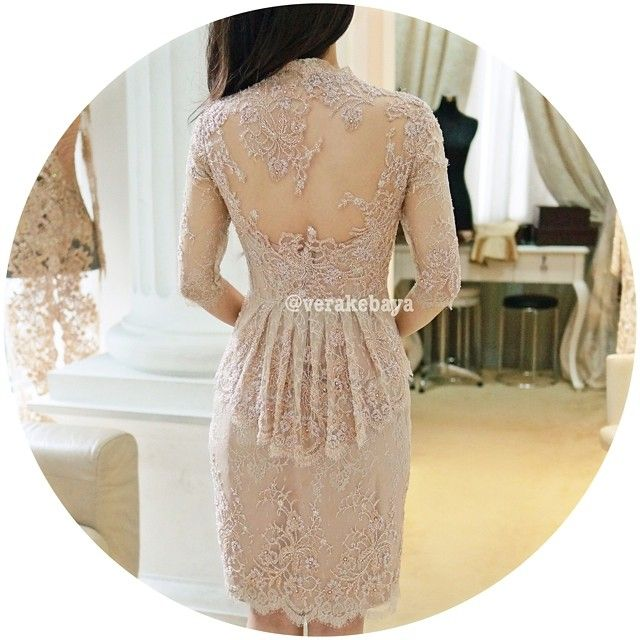 Fitting ... #partydress #lace #verakebaya