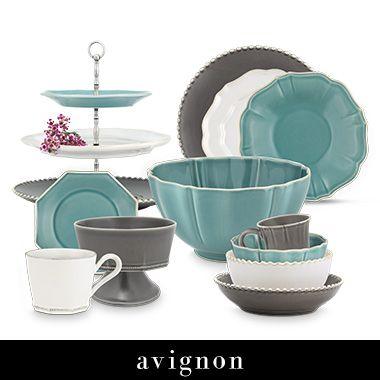 Avignon Dinnerware | Arhaus Furniture