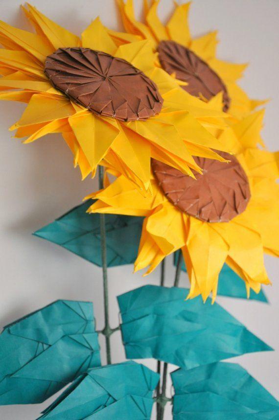 amazingly imaginative use of origami cranes :)
