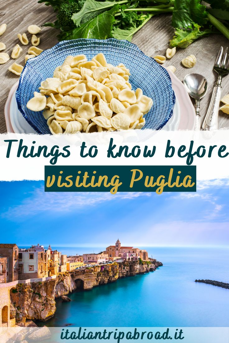 Things to know before visiting Puglia