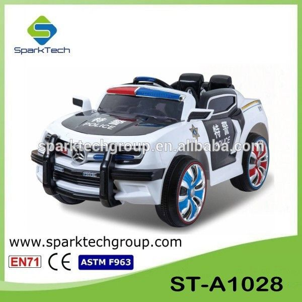 24g remote control 12v kids electric ride on police electric cars for kids buy