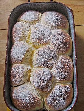 Bayerische Rohrnudeln mit Zuckerkruste, ein schönes Rezept aus der Kategorie S …
