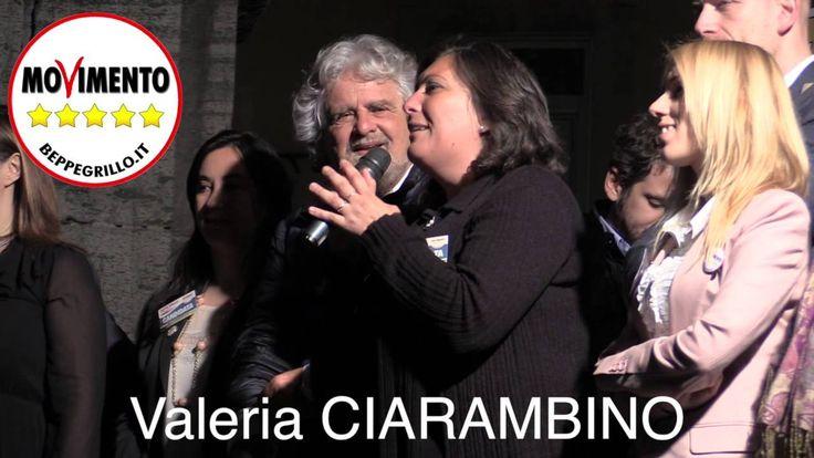 Napoli M5S - Valeria Ciarambino fa commuovere Beppe Grillo
