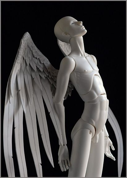 Ball-jointed angel doll
