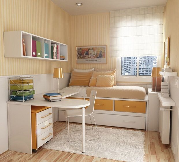 Living Room Designs For Small Rooms Part - 43: Interior Design Small Bedroom
