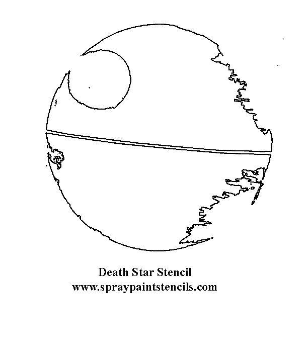 Free Star Quilting Stencils : deathstar-stencil.gif (612x720) Stencils Pinterest Death Star, Stencil and Star Wars Quilt
