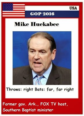 GOP 2016 trading cards: Mike Huckabee