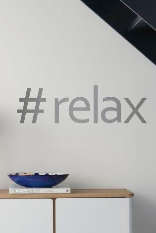 Cumpără Sticker decorativ de perete #Relax azi online la Next: România