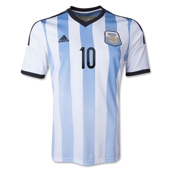 434b9806be5 ... 2014 FIFA World Cup Argentina Lionel Messi 10 Home Soccer Jersey 59.98  Save 54% ...