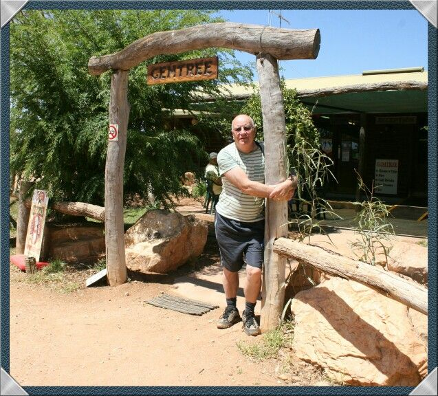 Gemtree accommodation on the sealed section of the Plenty Highway, 140 km from Alice Springs