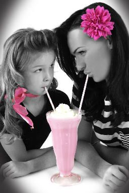 I am not a fan of the editing but I like the shake idea and them looking at each other!