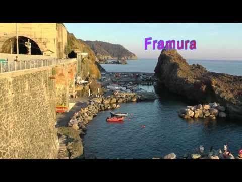 La via degli Orizzonti tra Levanto Bonassola e Framura(The way of the Ho...