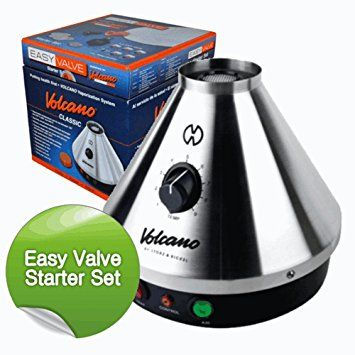 Volcano Vaporizer Classic Complete Set with Easy Valve - £254.98