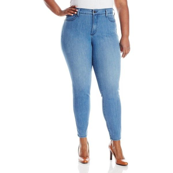 NYDJ Women's Plus-Size Ami Super Skinny Jeans ($37) ❤ liked on ...