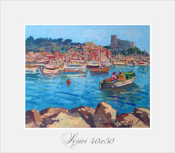 """Lerici"" 40x50 oil on canvas"