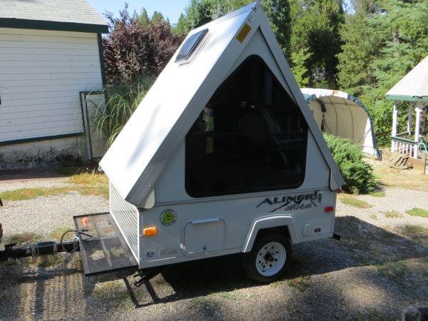 2011 Aliner Alite Camper A Frame Folding Pop Up Camp
