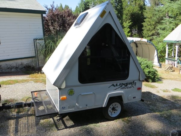 2011 aliner alite camper a frame folding pop up camp trailers accessories pinterest campers