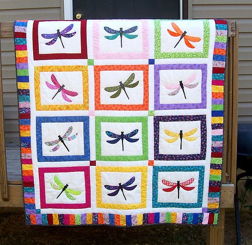 34 best dragonfly quilt images on Pinterest | Landscape paintings ... : dragonfly quilt - Adamdwight.com
