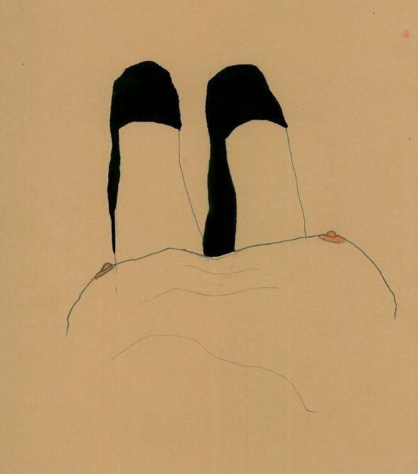 Minimalistic Eroticism - Egon Schiele