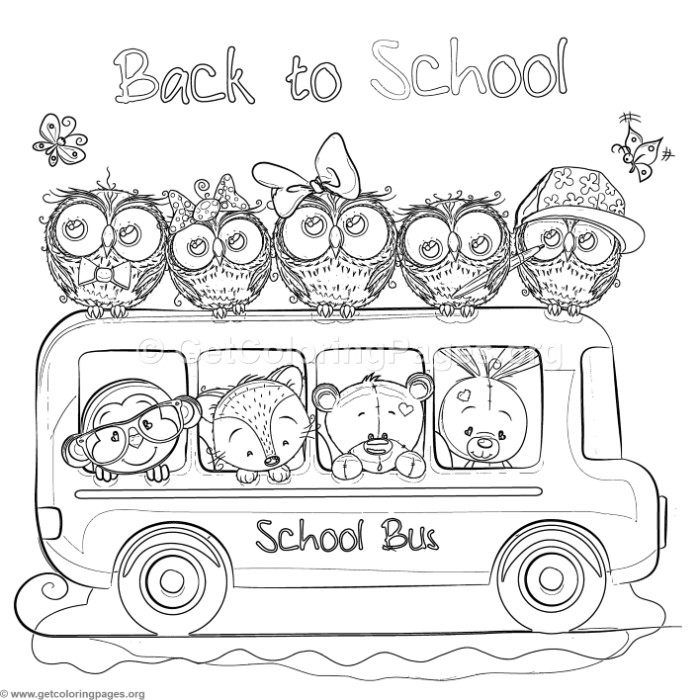 Free Download Zoo Animals School Bus Coloring Pages Coloring Coloringbook Coloringpages Cars Coloring Pages Animal Coloring Pages Free Coloring Pages