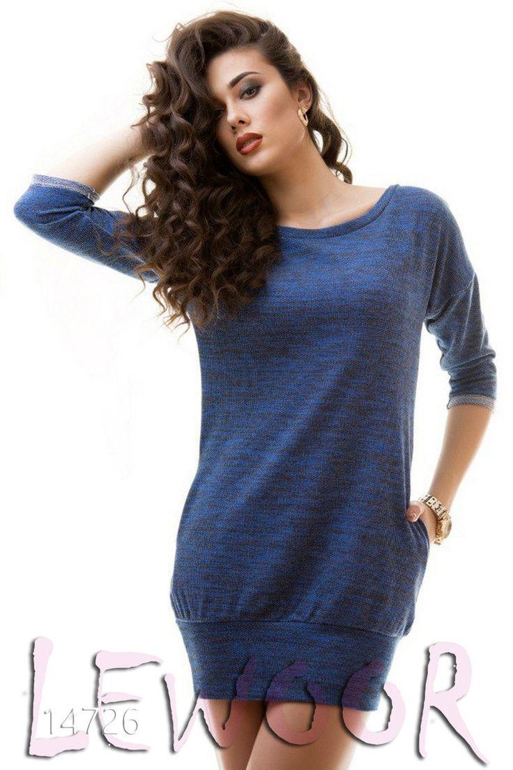 Короткая туника-платье на широкой резинке - купить оптом и в розницу, интернет-магазин женской одежды lewoor.com