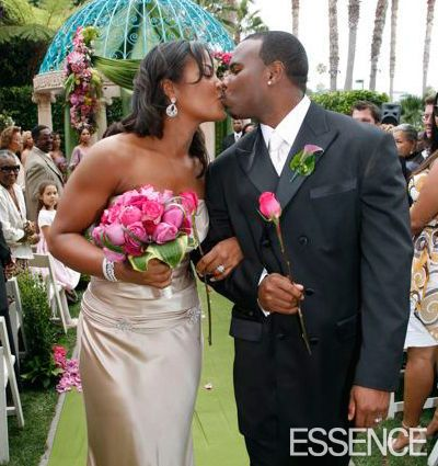 Laila Ali Marries Former NFL Star in L.A. | PEOPLE.com