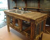 Rustikales Waschbecken im Freien   – David Hall