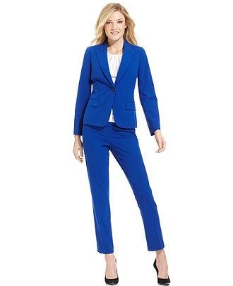 Calvin Klein Petite Suit Separates Atlantis Collection - Womens Petite Suits & Separates - Macy's