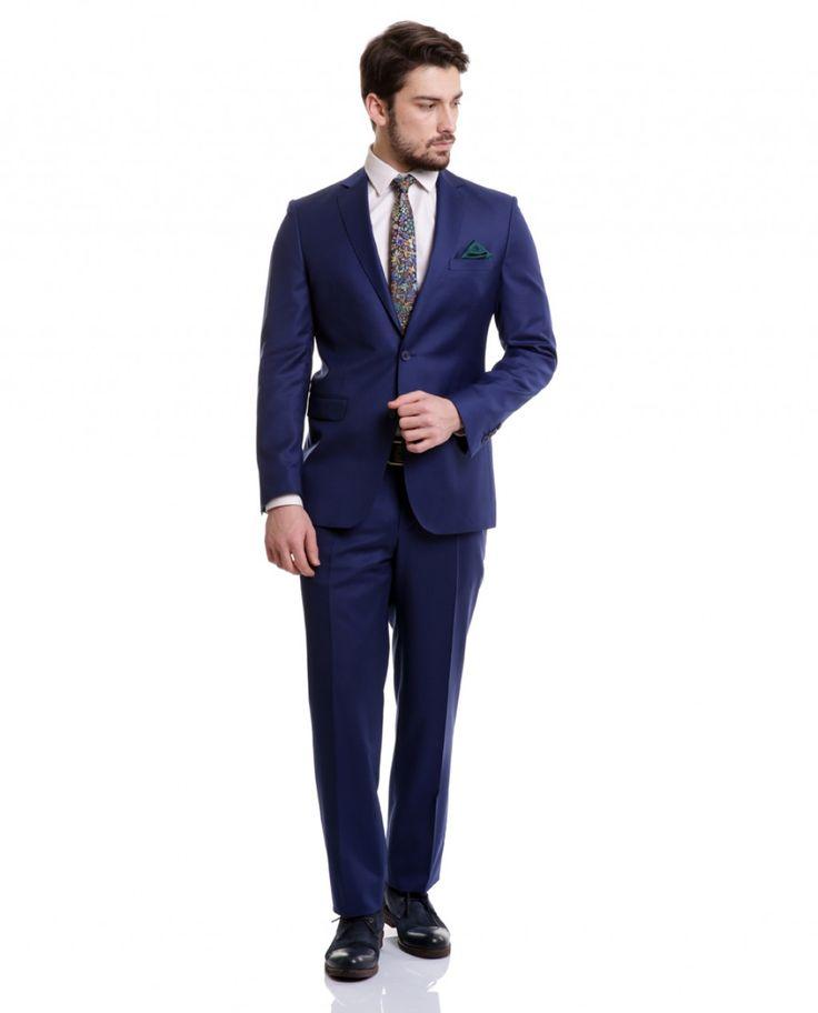 Karaca Erkek Takım Elbise - Saks Mavi #gentleman #suit #takımelbise #karaca #ciftgeyikkaraca  www.karaca.com.tr