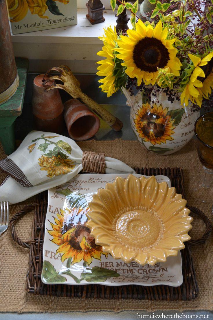 57 best sunflower decor images on pinterest sunflowers kitchen
