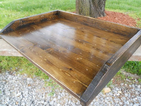 Rustic Stove Cover Dough Boards Kitchen Tray by SereneVillage, $59.00
