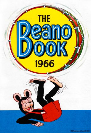 Vintage Beano annual prints at the Beano Store