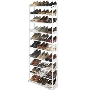 FengShuiOrganizers.com Floor Shoe Tower 30 Pair (New Lower Cost Style)