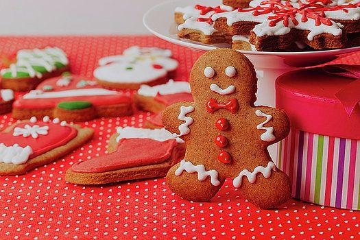 Christmas homemade gingerbread cookies by Nadya&Eugene Photography. #Xmas #Gingerbread #NadyaEugene