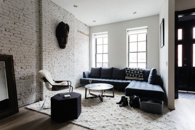 Prachtig townhouse in New York met bakstenen muren - Roomed