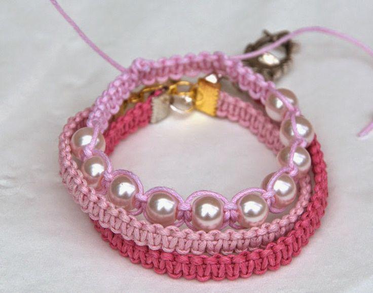 Karkötők rózsaszínben