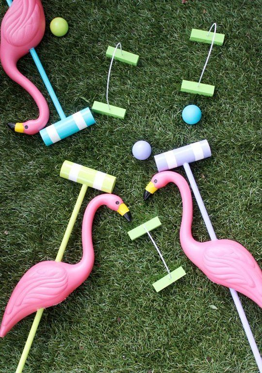 Fun Projects with Pink Plastic Flamingo Lawn Ornaments | Apartment Therapy