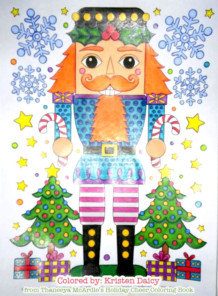 Cute Nutcracker Coloring Page From Thaneeya Mcardle S Holiday