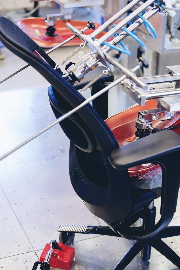Testing our HÅG SoFi mesh chair in Røros! #InspireGreatWork #design #Scandinavia #craft