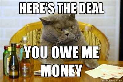 28 Best Images About People Still Owe Me Money On